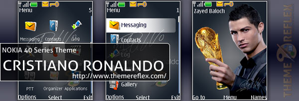 Nokia 40series Theme - Cristiano Ronaldo World Cup Theme
