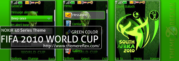Nokia 40series Theme - Fifa World Cup 2010 Theme