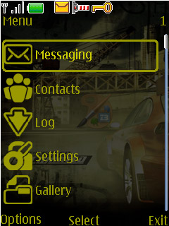 Nokia 40series Theme - NFS Most Wanted