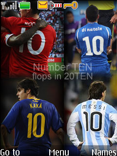 Nokia 40series Theme - 10 Number flops in World Cup 2010