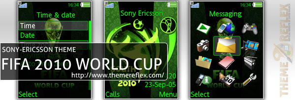 SonyEricsson FIFA 2010 World Cup theme