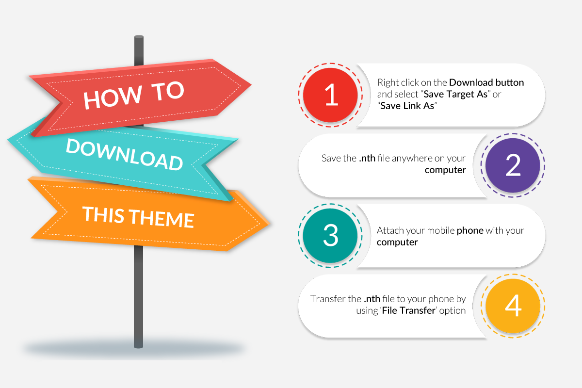 How to download mobile themes