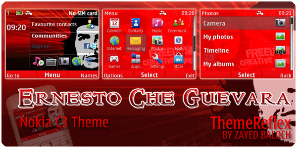 Ernesto Che Guevara Theme for Nokia C3