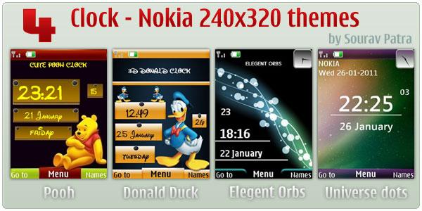 Nokia 240x320 themes