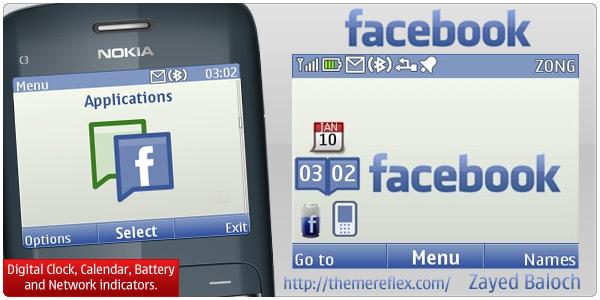 Nokia C3 theme