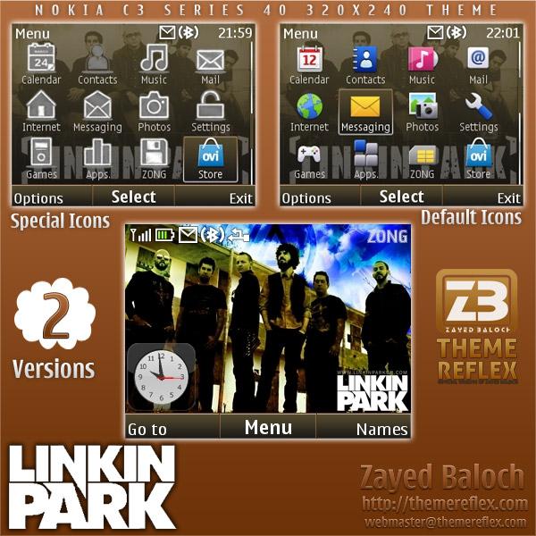 Nokia C3 / X2-01 themes