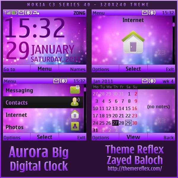 Nokia C3 / X2-01 theme