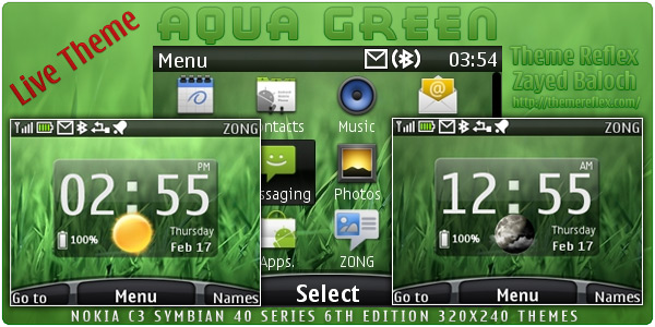 Nokia C3 themes, Nokia X2 Themes,