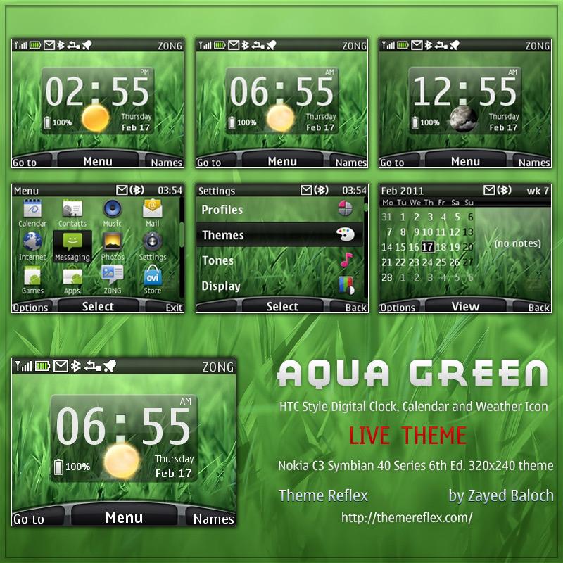 Nokia C3 Themes / Nokia X2 Themes