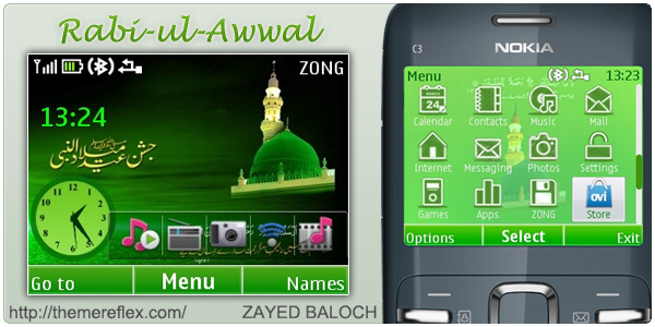 Nokia C3 themes
