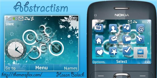 Nokia C3, X2-01 themes