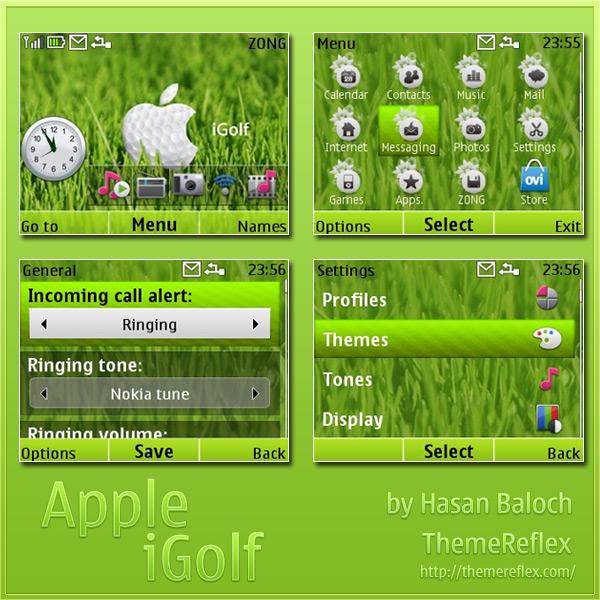 Nokia C3 theme  X2-01 themes