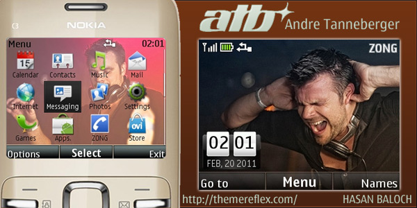 Andre Tanneberger ATB theme for Nokia C3