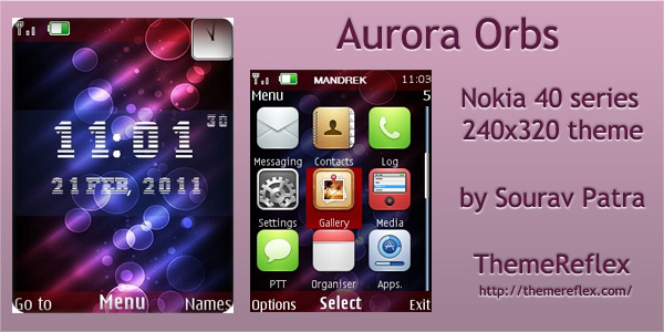 Nokia series 40 themes