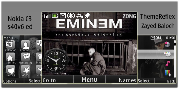 Eminem Theme for Nokia
