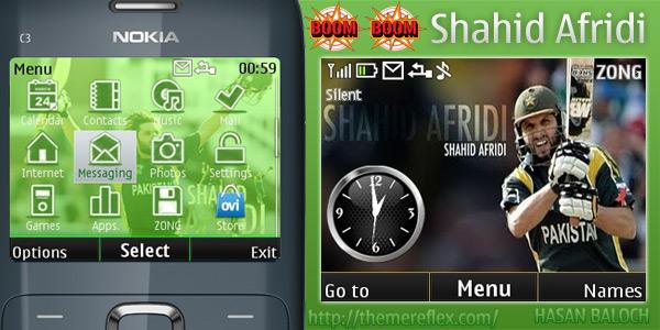 Nokia C3 Themes, Nokia X2-01 theme