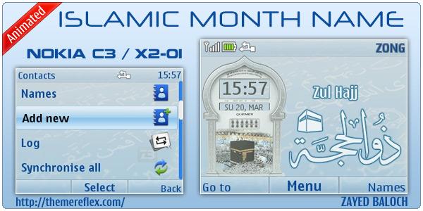X2-01 Islamic Themes