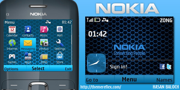 Themes nokia themes theme c3 theme for mobile themes for phone x2 01