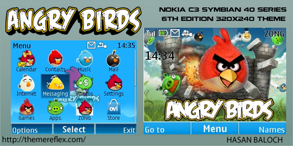 Angry Birds in Nokia