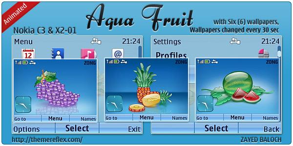 Aqua Fruit
