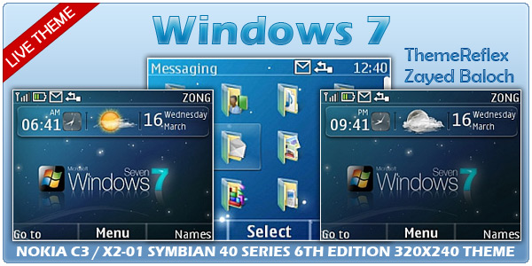 Windows 7 Live Themes