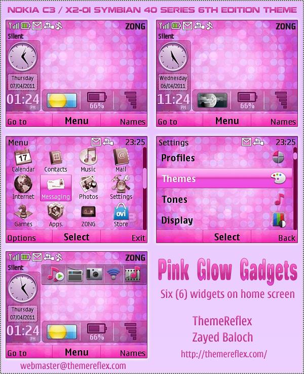X2-01 Nokia Live Themes