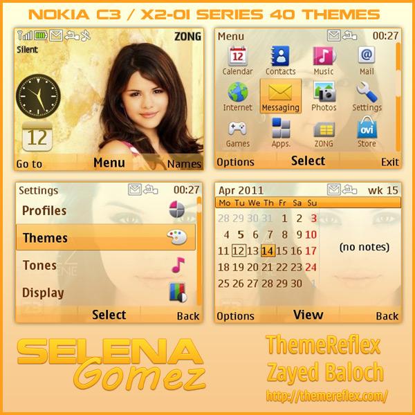 Selena Gomez C3 Themes