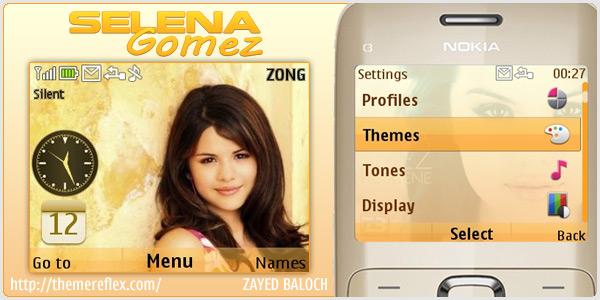 Selena Gomez X2-01 Themes