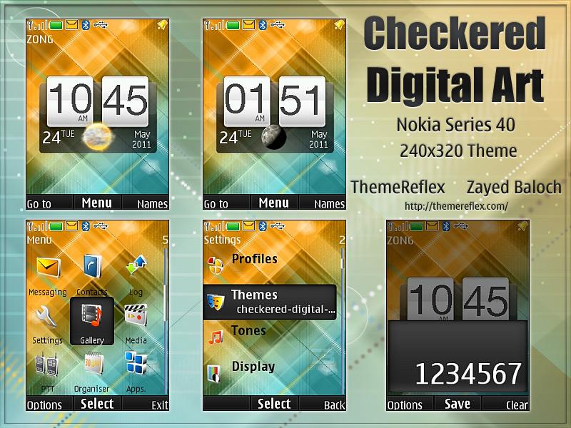 Nokia X2 240x320 themes