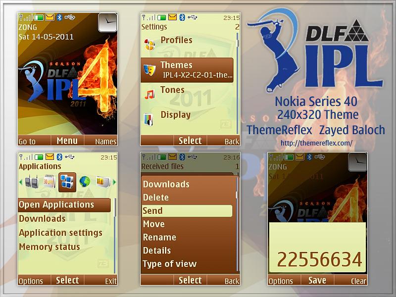 IPL 4 Theme Nokia