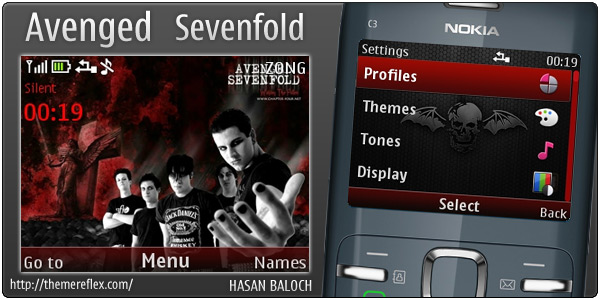Avenged Sevenfold theme C3 X2