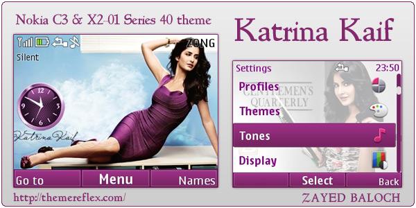 Katrina Kaif C3 themes