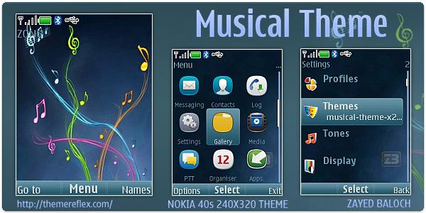 Nokia X2, C2-01, Supernova themes