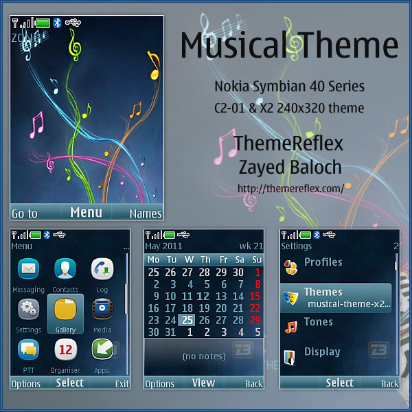 X2 Nokia Series 40 themes