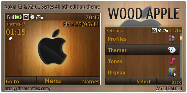 Wood Apple C3 theme