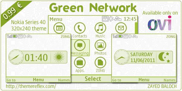 Nokia C3 Ovi Store theme