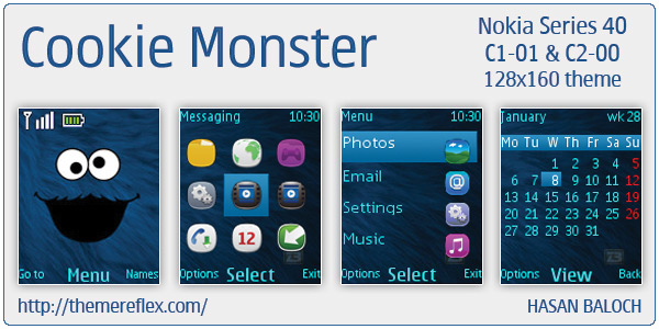 Cookie Monster themes