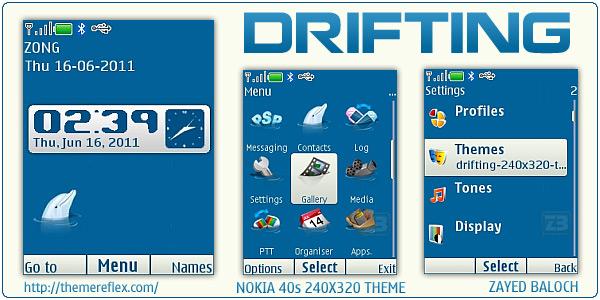 Nokia X2 C2-01 240x320 themes