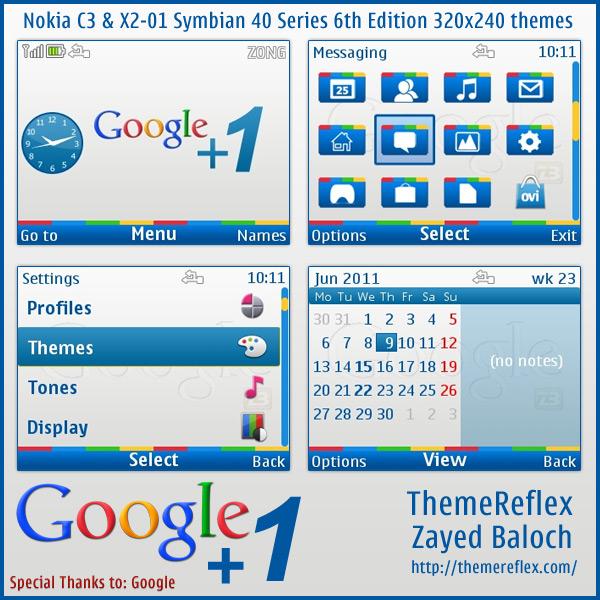 Google +1 Nokia X2-01