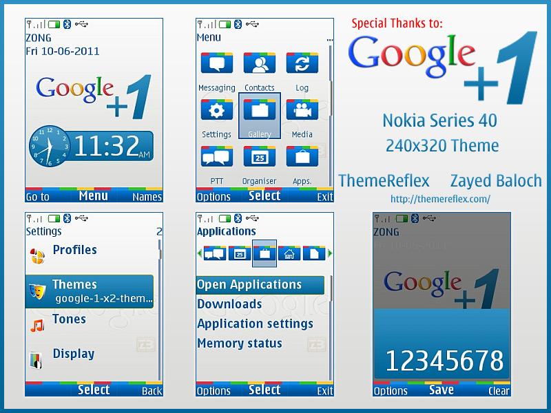 Nokia X2 C2-01 240x320 theme