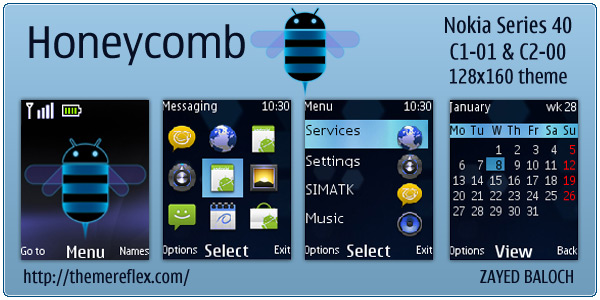 Android Honeycomb theme