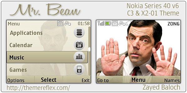 Mr. Bean theme for Nokia