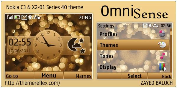 Nokia C3 & X2-01 themes