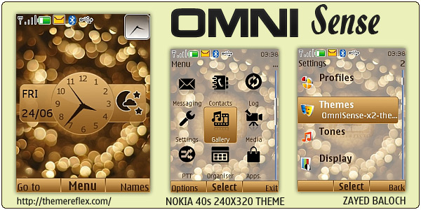 Nokia flash lite weather theme