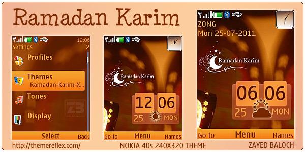 Ramadan Nokia Themes