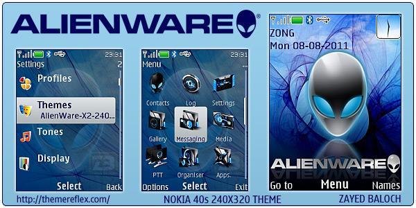 AlienWare X2 C2-01 themes