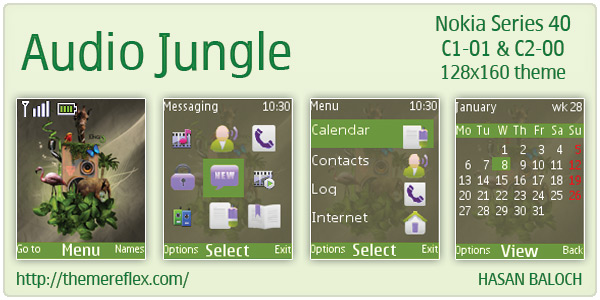 Audio Jungle Nokia themes