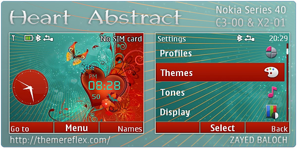 Abstract Nokia theme