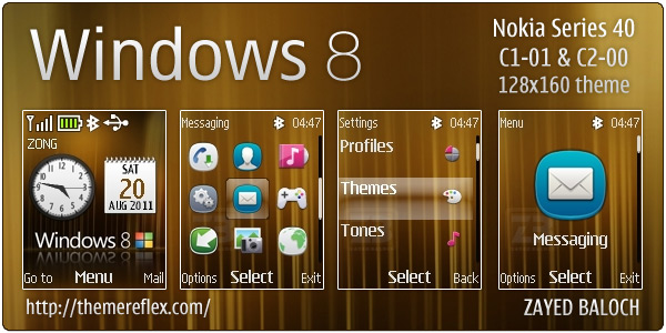 Windows 8 Nokia theme