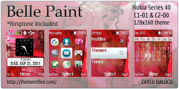 Nokia Symbian Belle Themes